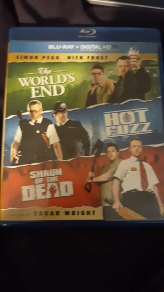 3 Simon Pegg movies HD CODE ONLY