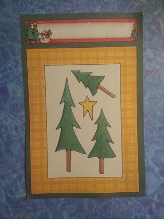 Christmas craft paper 1