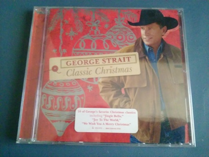 George Strait - Classic Christmas (CD, Oct-2008, MCA Nashville) MINT, SEALED