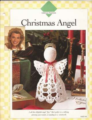 Free Crochet Christmas Angel Pattern By Vanna White Crochet
