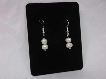 Dainty and Cute! Real Fresh Water Pearl Earrings