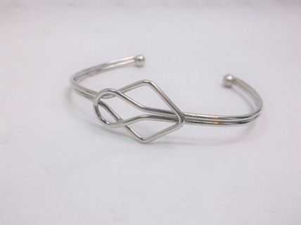 Handmade Wire Cuff Bracelet