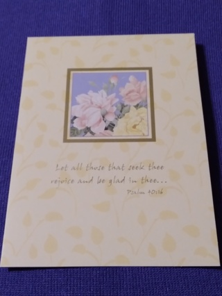 Inspirational Notecards - Heavenly Florals