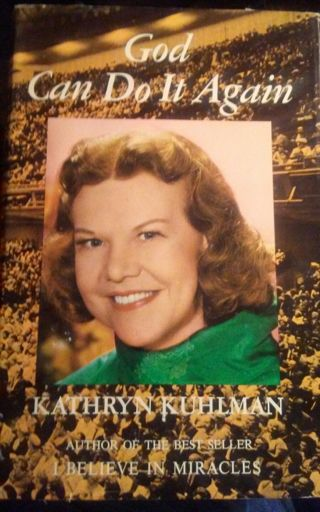 Vintage - God Can Do It Again, Kathryn Kuhlman.- 1969 Edition