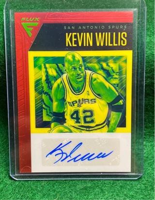 Kevin Willis AUTOGRAPH CARD 2019-20