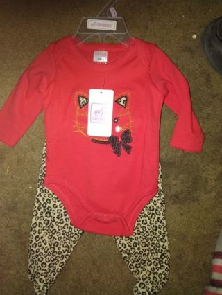 Babygirl Outfit 0-3m BNWT!