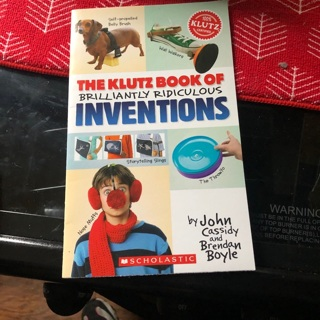 The klutz book of brilliantly ridiculous inventions