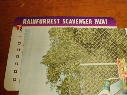 Rainfurrest Scavenger Hunt