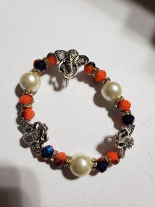 1 Stretchy elephant bracelet