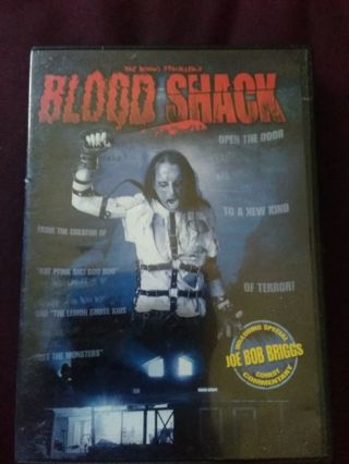 BLOOD SHACK DVD USED EXCELLENT CONDITION