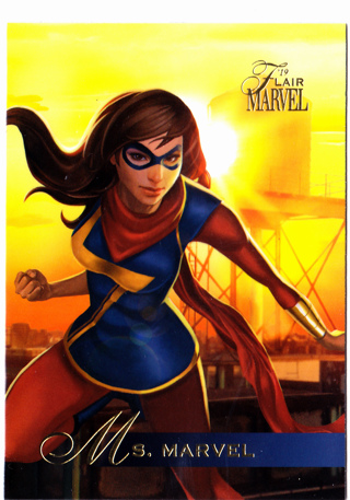 2019 Flair Marvel #78 Ms. Marvel