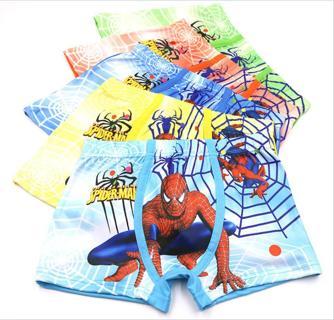Toddler Baby Boys underwear Spider-Man cotton children pantie shorts Wholesale