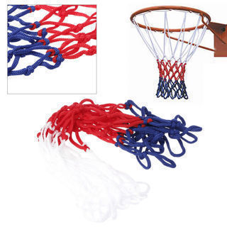Red White Blue Nylon Basketball Universal 5mm Net Nylon Hoop Goal Rim Mesh