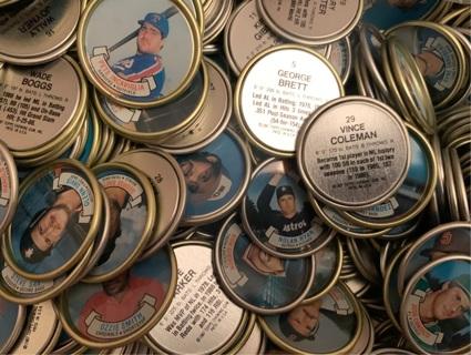 Topps baseball coins