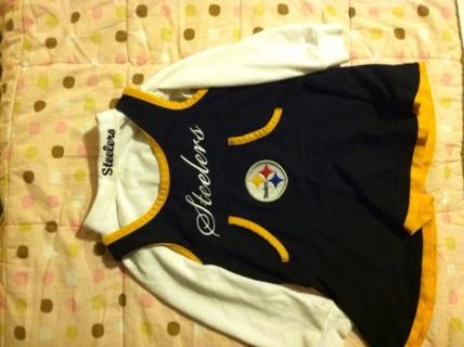 Steelers Cheerleading Dress... Size 2t