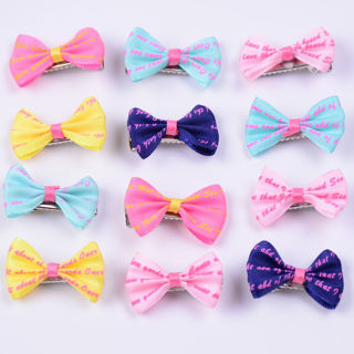 10PCS Small Pet Dog Hair Bows Clips Accessories Cat Hairpin Grooming Bowknot Lot