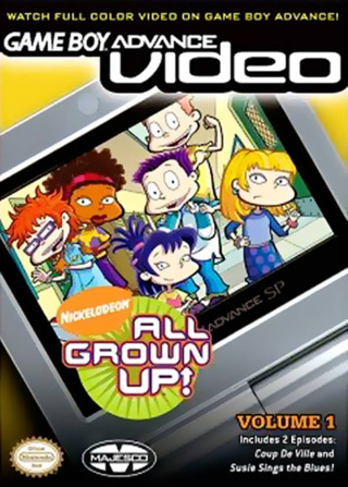 Nickelodeon All Grown Up Vol 1 GBA Video