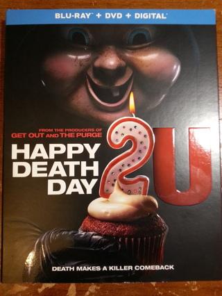 """Happy Death Death 2U"" - DVD Blu-Ray Combo - US Seller"