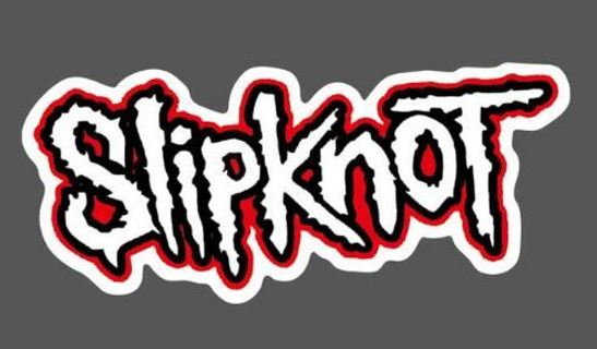 NEW SLIPKNOT BAND STICKER Metal Headbanger Music FREE SHIPPING