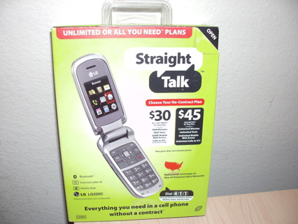 Straight Talk Promo Code for FREE LG 220C