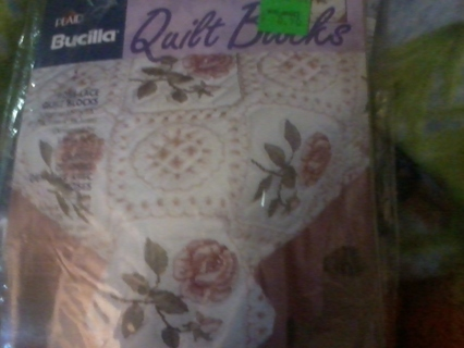 Free: Roses & Lace Quilt Blocks --cross stitch - Needlecraft