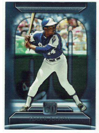 Hank Aaron Topps 60th Anniversary Atlanta Braves 2011