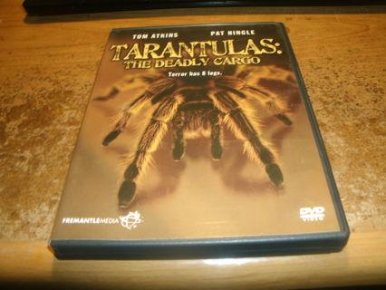 dvd-tarantulas:the deadly cargo-tom atkins-pat hingle-horror-1977-used-ex
