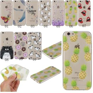New Slim Clear Soft Silicone TPU Rubber Gel Back Case Cover For Smart cellphones