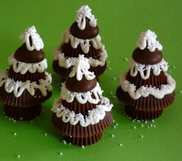 Reeses Mini Chocolate  Trees  Recipe  + 3 Bonus  recipes