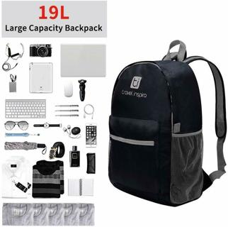 Women Men Shoulder Backpack Rucksack Outdoor