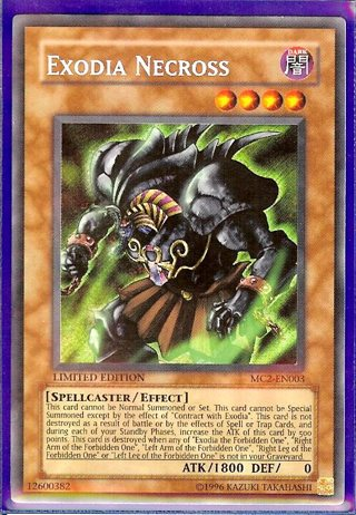 Free Exodia Necross Yugioh Cardgin Bonus Contract With Exodia Yugioh Card Trading Card Games Listia Com Auctions For Free Stuff
