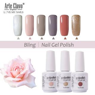 Arte Clavo 15ml 40 Colors UV LED Lamp Nail Gel Polish Gelpolish Nail Art Decoration Varnish Soak O