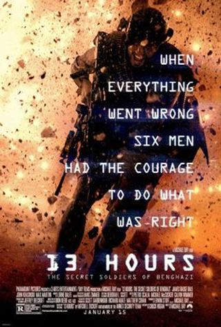 13 Hours *DIGITAL HD VUDU & ITUNES REDEEMS* *DOESNT PORT TO MOVIESANYWHERE*