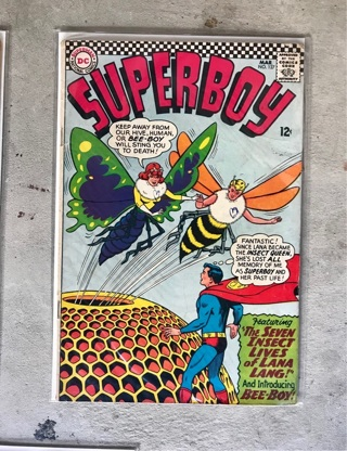 Superboy #127 12 cent Cover Silver Age