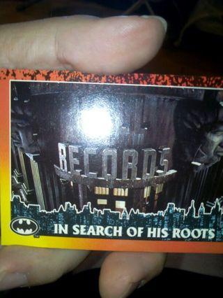 Batman returns card #35