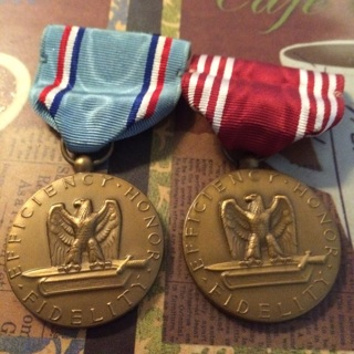 2 Conduct Medals