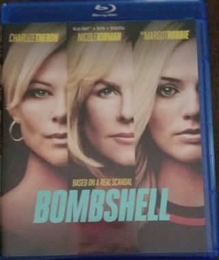 Bombshell (2020) Ultraviolet Digital HD Code NEW! NEVER USED! Charlize Theron Margot Robbie