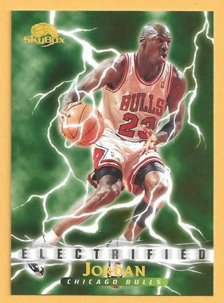 1996 Michael Jordan (HOF) Fleer / SkyBox Electrified #278 Chicago Bulls *FREE S/H*
