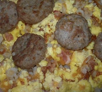 Tater Tots Breakfast Pizza Recipe