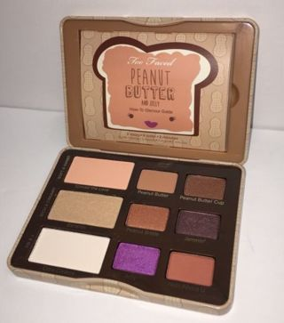 Brand New Too Faced Peanut Butter and Jelly Eyeshadow Palette