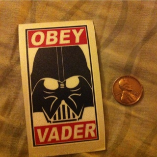 Obey Vader High Quality Decal