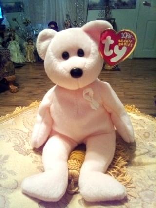"2003 TY Beanie Baby ""CURE"" the Bear"