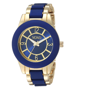 Women's Analog-Quartz Watch with Alloy Strap, Two Tone, 10 (Model: XO266)