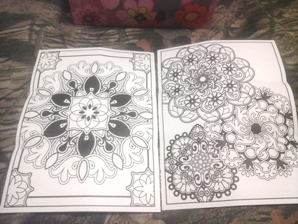 Coloring pages Paisley#3