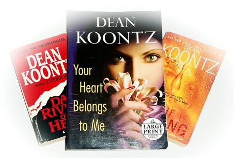 (3 Dean Koontz Books!) Dark Rivers Of The Heart, The Taking, Your Heart Belongs to Me
