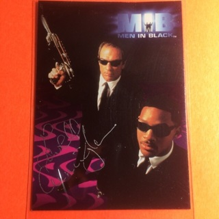 1997 Men in Black Card! Autographed?! You tell me!?