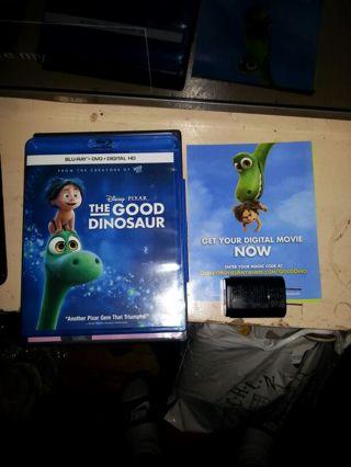 Disney digital movie code for The Good Dinosaur in HD.