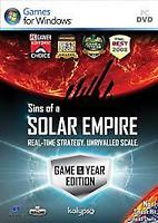 Sins of a Solar Empire: Game of the Year Edition (PC, 2009) Brand New & Factory Sealed OBO