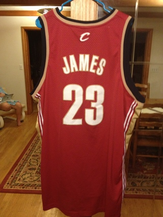 wholesale dealer 8ac5e 9355e Free: The King Is Back! LeBron Stitched 4XL Cavs Jersey ...
