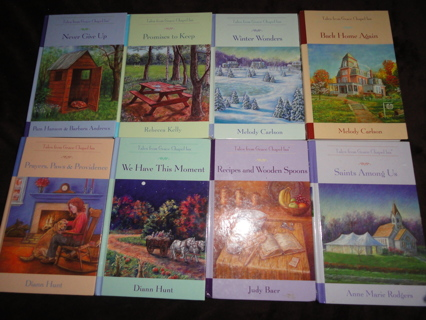 Lot of 8 Tales From Grace Chapel Inn Mystery Books Guideposts Anthology Mysteries